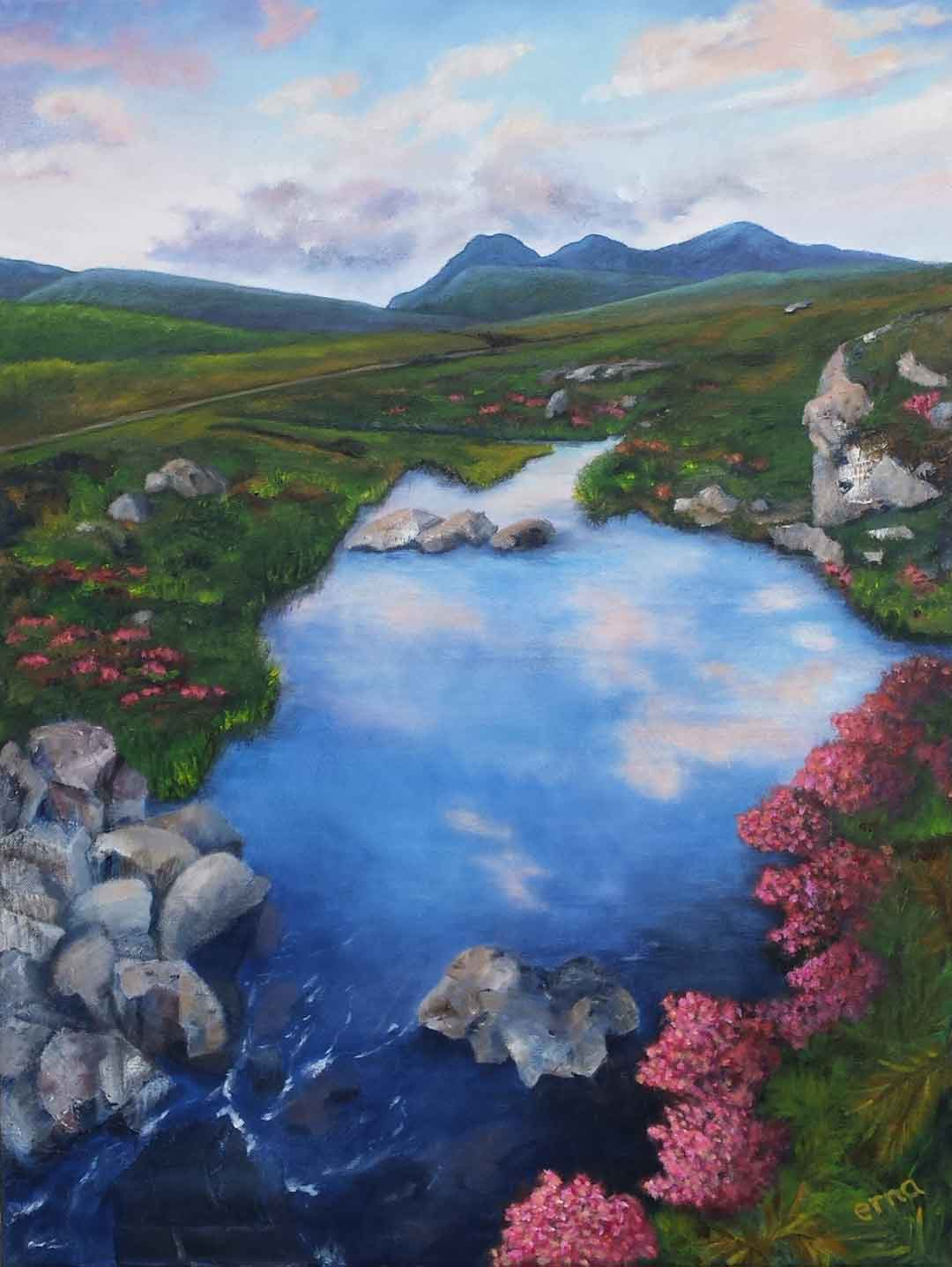 beloved scotland erna van der veen
