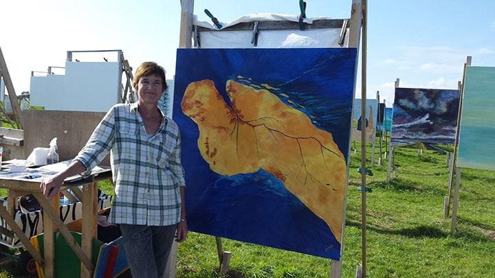 erna van der veen schilderij bij colorfield