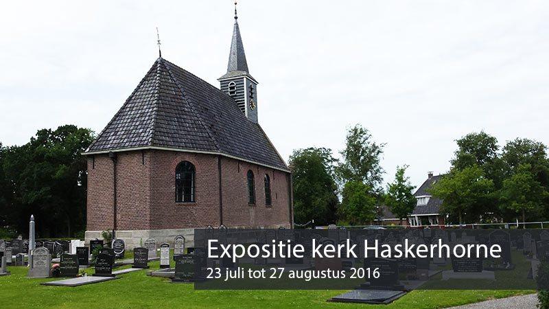 expositie Erna van der Veen Kerk Haskerhorne