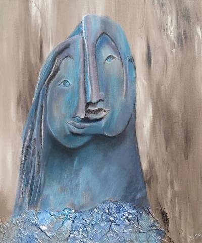 """Harmonie geïnspireerd door sculptuur """"Paris and Helena"""" van Monserrat Faura"""