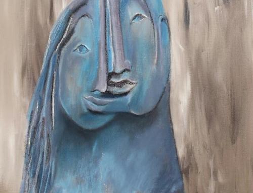 """Harmonie (geïnspireerd door sculptuur """"Paris and Helena"""" van Monserrat Faura)"""