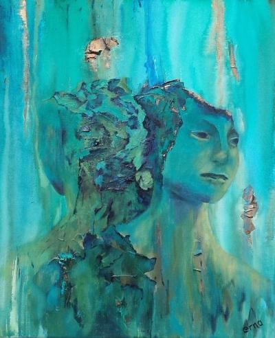 """Loslaten geïnspireerd door beeld """"Rokin fontein"""" ontwerp van Mark Manders"""