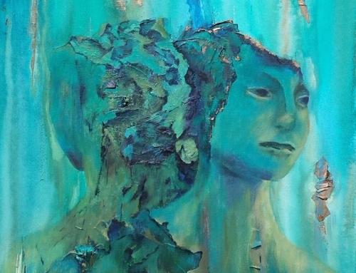 """Loslaten (geïnspireerd door beeld """"Rokin fontein"""" ontwerp van Mark Manders)"""