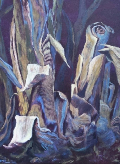 schilderij afstervend leven
