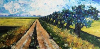 schilderij boerenland