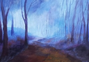 Schilderij Erna van der Veen