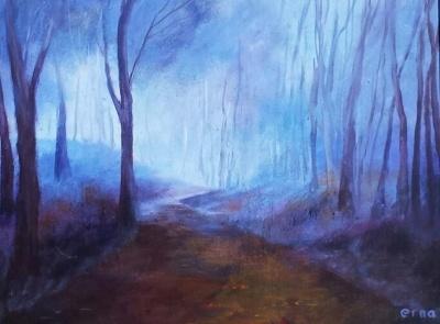 schilderij stemmige stilte