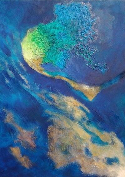 schilderij vanuit de hoogte